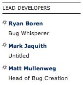 List of lead WordPressdevelopers