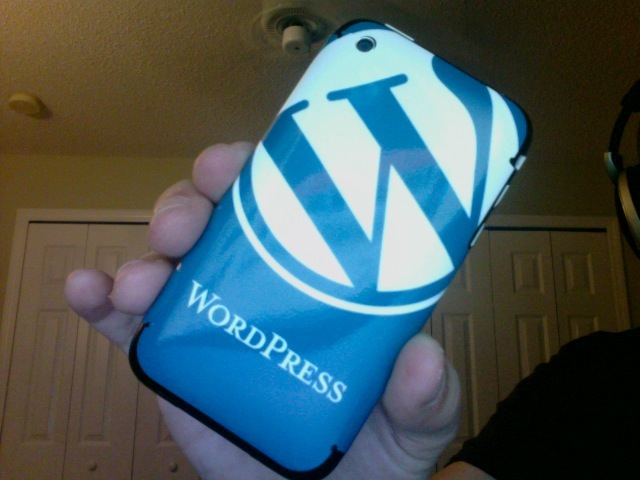 WordPress skin for the iPhone 3G